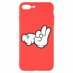 "Чехол для iPhone 8 Plus Mickey Mouse Hands ""Chop-chop"""