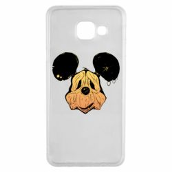Чехол для Samsung A3 2016 Mickey mouse is old