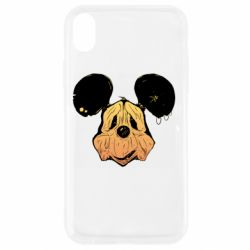 Чехол для iPhone XR Mickey mouse is old
