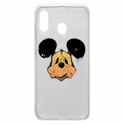 Чехол для Samsung A20 Mickey mouse is old