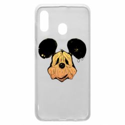 Чехол для Samsung A30 Mickey mouse is old