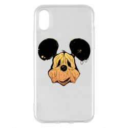 Чехол для iPhone X/Xs Mickey mouse is old