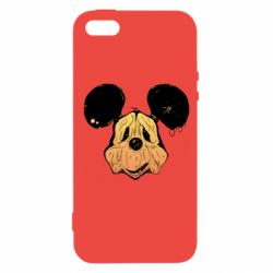Чехол для iPhone5/5S/SE Mickey mouse is old