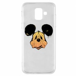 Чехол для Samsung A6 2018 Mickey mouse is old