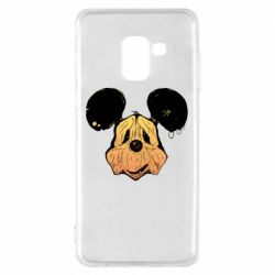 Чехол для Samsung A8 2018 Mickey mouse is old