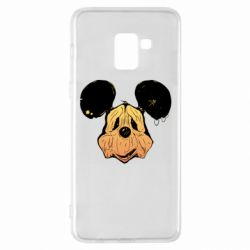 Чехол для Samsung A8+ 2018 Mickey mouse is old