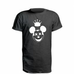 Купить Микки Маус, Удлиненная футболка Mickey Mouse Swag, FatLine