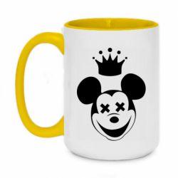 Кружка двухцветная 420ml Mickey Mouse Swag