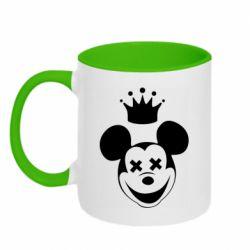 Кружка двухцветная 320ml Mickey Mouse Swag