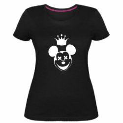 Женская стрейчевая футболка Mickey Mouse Swag