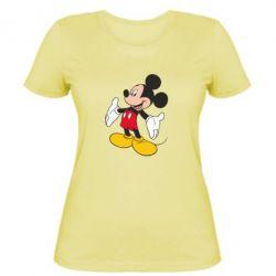 Женская футболка Mickey Mouse - FatLine