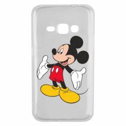 Чохол для Samsung J1 2016 Mickey Mouse