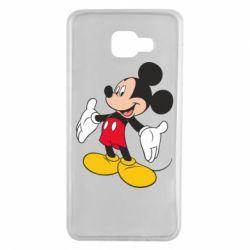 Чохол для Samsung A7 2016 Mickey Mouse