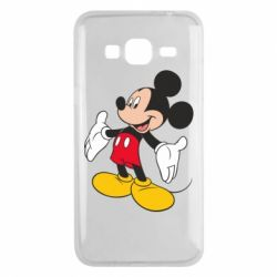 Чохол для Samsung J3 2016 Mickey Mouse