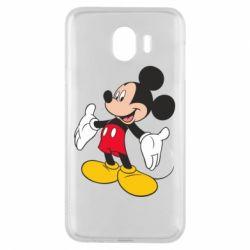 Чохол для Samsung J4 Mickey Mouse