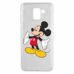 Чохол для Samsung J6 Mickey Mouse