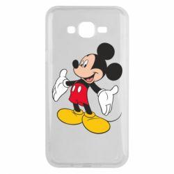 Чохол для Samsung J7 2015 Mickey Mouse