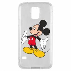 Чохол для Samsung S5 Mickey Mouse