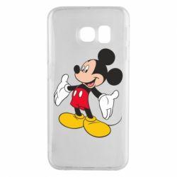 Чохол для Samsung S6 EDGE Mickey Mouse