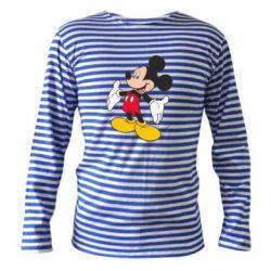 Тельняшка с длинным рукавом Mickey Mouse - FatLine