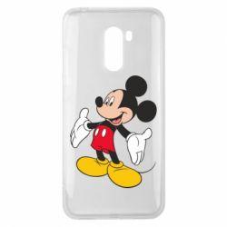 Чехол для Xiaomi Pocophone F1 Mickey Mouse