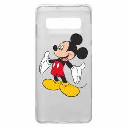 Чохол для Samsung S10+ Mickey Mouse