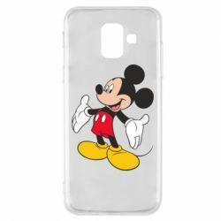 Чохол для Samsung A6 2018 Mickey Mouse
