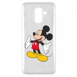 Чохол для Samsung A6+ 2018 Mickey Mouse