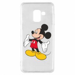 Чохол для Samsung A8 2018 Mickey Mouse