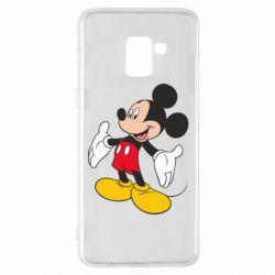 Чохол для Samsung A8+ 2018 Mickey Mouse