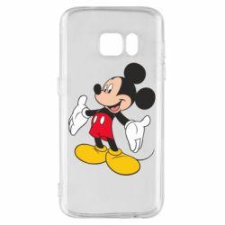 Чохол для Samsung S7 Mickey Mouse