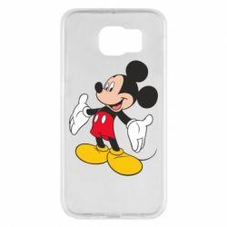 Чохол для Samsung S6 Mickey Mouse