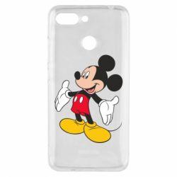 Чехол для Xiaomi Redmi 6 Mickey Mouse