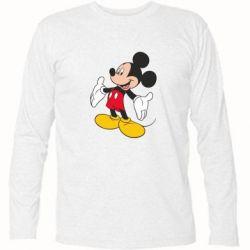 Футболка с длинным рукавом Mickey Mouse - FatLine