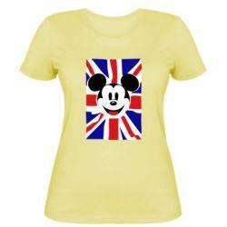 Женская футболка Mickey Swag - FatLine
