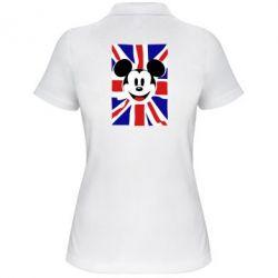Женская футболка поло Mickey Swag - FatLine