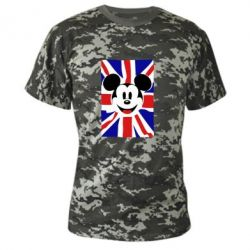 Камуфляжна футболка Mickey Swag