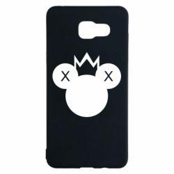 Чохол для Samsung A5 2016 Mickey with a crown