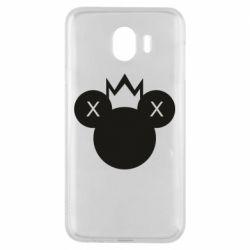 Чохол для Samsung J4 Mickey with a crown