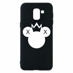 Чохол для Samsung J6 Mickey with a crown