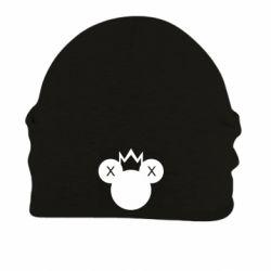 Шапка на флісі Mickey with a crown
