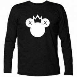 Футболка з довгим рукавом Mickey with a crown