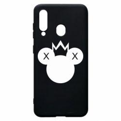 Чохол для Samsung A60 Mickey with a crown
