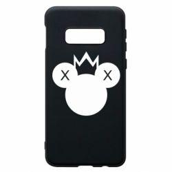 Чохол для Samsung S10e Mickey with a crown