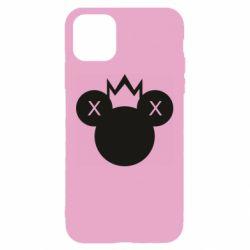 Чохол для iPhone 11 Mickey with a crown
