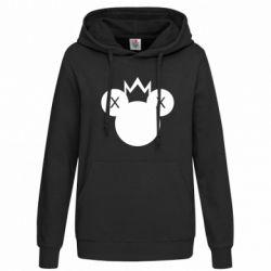 Толстовка жіноча Mickey with a crown