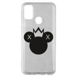 Чохол для Samsung M30s Mickey with a crown