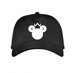 Дитяча кепка Mickey with a crown