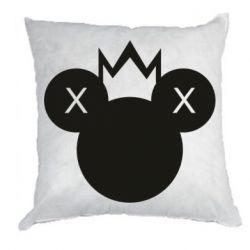 Подушка Mickey with a crown