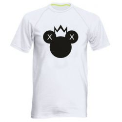 Чоловіча спортивна футболка Mickey with a crown